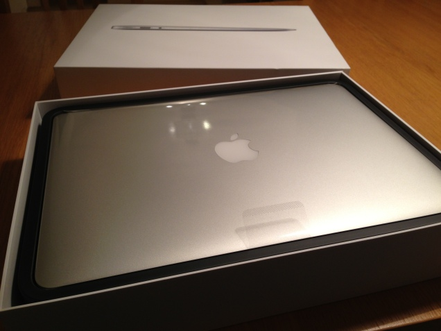 My new MacBook Air