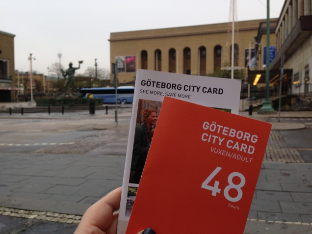 We bought a city card so we could enjoy most of the town for a good price.