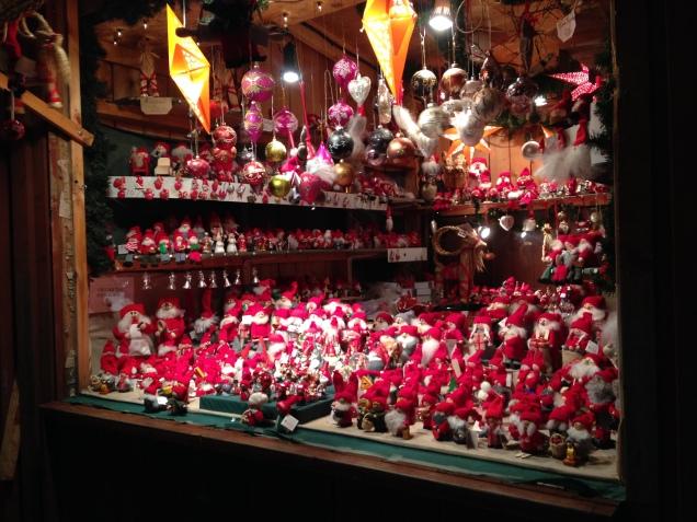 The Santa booth