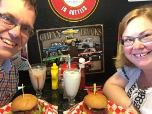They offered lactose free milkshake and the best tasting burger I've eaten in a long time!
